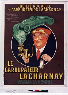 Le Carburateur Lacharnay... : [affiche] / [Mich]