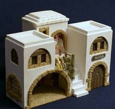 1 million+ Stunning Free Images to Use Anywhere Nativity House, Christmas Nativity Scene, Christmas Villages, Nativity Scenes, Villa Minecraft, Disney Stained Glass, Wargaming Terrain, Free To Use Images, Modelos 3d