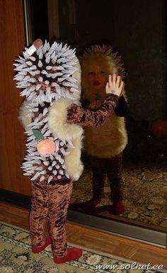 Сшить новогодний детский костюм ежа