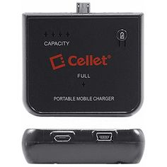 Cellet Portable Backup Battery Charger, micro-USB BMICROX