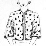 FREE 1950's Cape Jacket Sewing Pattern / Tutorial
