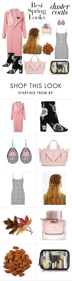 """""""rain please stay so i can slay"""" by tatumbabe ❤ liked on Polyvore featuring Miss Selfridge, Rebecca Minkoff, Kenzo, H&M, Alexander Wang, WithChic, Anne Klein and Burberry"""