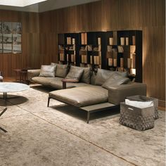 Come see the new addition to our showroom - Lifesteel sectional in Pelle Deluxe! #flexform #flexformny #newyork #sofa #sectional #leather #pelle http://www.flexformny.com/products/sofas/lifesteel/
