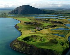 Lake Mývatn, Iceland. ....Game of Thrones: Where filming for beyond the wall and wildlings scenes take place.