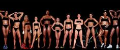 These Photos Of Women's Bodies Are Unbelievable.  Different shapes, different sizes, different weight...all healthy.