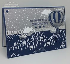 Stampin' Up! Demonstrator stampwithpeg :Global Design Project #GDP070 : Sale-a-bration Wednesday – Congratulations, Lift Me Up! My first play with the Lift me up bundle and I am busy thinkin…