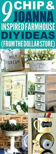 These dollar store farmhouse decor ideas are really good! I'm happy I found these cute fixer upper kitchen and home decor ideas! Now I have some great ways to make my home look like Chip and Joanna Gaines' farmhouse style! These dollar store f Farmhouse Remodel, Farmhouse Style Kitchen, Farmhouse Style Decorating, Farmhouse Decor, Farmhouse Ideas, Kitchen Country, Country Farmhouse, French Country, Country Style