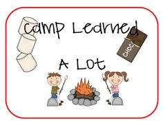 Buggy for Second Grade: Camp Learned A Lot