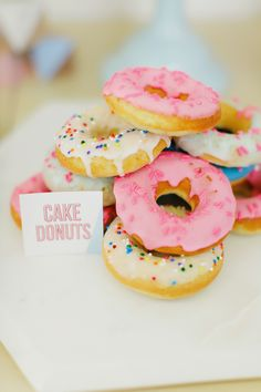 Photography : Milou + Olin Read More on SMP: http://www.stylemepretty.com/living/2015/06/05/buttermilk-cake-donut-with-raspberry-glaze-diy-donut-tips-and-tricks/