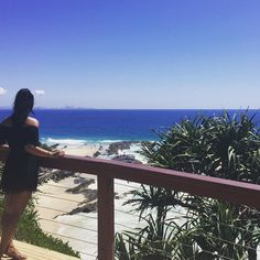 Goldie you've turned it up today! Awesome view of Snapper Rocks  _______ Checkin' out the #surf at #snapperrocks  #sunny #coolangatta #goldcoast  You'd think it was #summer by gloccy