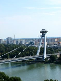 This post gives suggestions on things to do in Bratislava, the capital of Slovenia. From a gorgeous Old Town to a striking castle, I have your bases covered Slovak Language, Stuff To Do, Things To Do, Bratislava Slovakia, George Washington Bridge, Most Beautiful Cities, Salzburg, Slovenia, Brooklyn Bridge