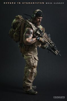 Tactical Beard, Tactical Armor, Military Action Figures, Custom Action Figures, Military Special Forces, Military Men, Airsoft, Marine Gear, Scruffy Men