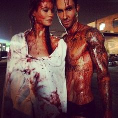 When they made gore look good: | Community Post: 15 Times Adam Levine And Behati Prinsloo Gave Us Serious Relationship...