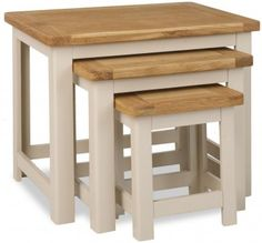 Portland Painted Nest of Tables £138.00