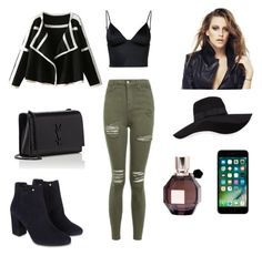 """Vapor💨"" by conimallete on Polyvore featuring moda, Topshop, T By Alexander Wang, Monsoon, Yves Saint Laurent, San Diego Hat Co. y Viktor & Rolf"