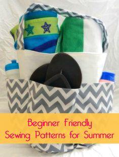 Beginner Friendly Summer Sewing Patterns