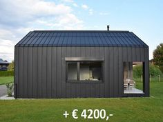 Guest House Shed, Cabin House Plans, Tiny House Cabin, Up House, Building A Container Home, Building A New Home, Shed Homes, Prefab Homes, Build Your House