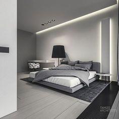 q-house interior design by Mateusz Kuo Stolarski, via Behance