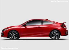 Cool Honda 2017 - Honda Civic Si Coupe 2017 poster, #poster, #mousepad, #tshirt, #printcarposter...  Honda posters Check more at http://carsboard.pro/2017/2017/07/04/honda-2017-honda-civic-si-coupe-2017-poster-poster-mousepad-tshirt-printcarposter-honda-posters/