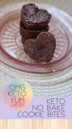 omg keto yum Keto No Bake Cookie Bites