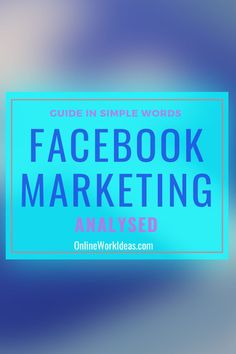 Facebook group is a powerful feature for marketers. It provides another way to engage with people to increase branding, conversions and profits. The aim is to also increase trust and authority.  Facebook groups provide unique Facebook marketing and business opportunities than other marketing methods. It is another productive form of getting website traffic.  It's free and there is already +1 billion users interacting.....please read all the guide by clicking image! Facebook Marketing, Internet Marketing, Online Marketing, Social Media Marketing, Competitor Analysis, Simple Words, Self Publishing, Business Website, Online Work
