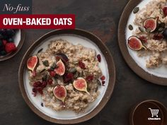 Baked Oats, Oven Baked, Winter Warmers, Oatmeal, Breakfast, Food, Baked Oatmeal, Breakfast Cafe, Essen