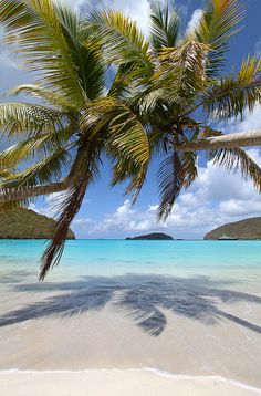 Maho Bay, St. John, US Virgin Islands.
