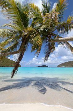 Maho Bay, St. John, US Virgin Islands.
