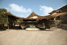 ASA Studio Albanese has designed the Casa Albanese located on Island of Pantelleria, Italy. Outdoor Spaces, Indoor Outdoor, Outdoor Living, Outdoor Decor, Outdoor Lounge, Luxury Tents, Borneo, Outdoor Camping, Outdoor Gardens