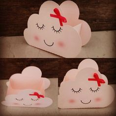 Caixa nuvem Birthday Diy, Unicorn Birthday Parties, Unicorn Party, Cool Paper Crafts, Diy Arts And Crafts, Crafts For Kids, Cloud Party, Baby Shower Souvenirs, Baby Shawer