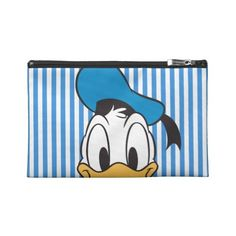 Peek-a-Boo Donald Duck Travel Accessory Bags ($37) ❤ liked on Polyvore featuring bags and luggage
