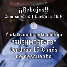 Rebajas Rushmore | Blog Camisas Rushmore