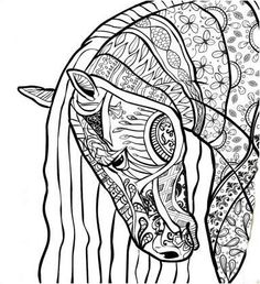 Big Kid Coloring Pages Pinbarbara On Coloring Horse Zebra  Pinterest