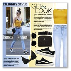 """kendall jenner on august"" by nanawidia ❤ liked on Polyvore featuring WearAll, Glamorous, Lavish Alice, Vans, Oscar de la Renta, Dorothy Perkins, casualoutfit, CasualChic, kendalljenner and August"