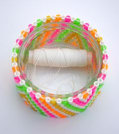 craft recommended for older kids/teens, but lots of fun options: candle holders, bracelets, etc. link has design sheet pdf, link to tutorial, inspiration, etc.