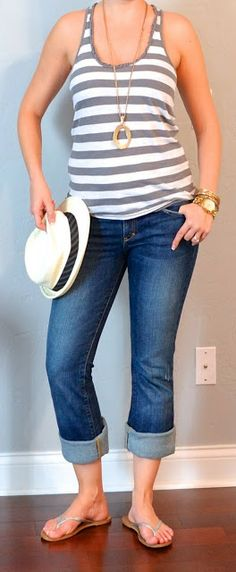 Outfit Posts: (outfits 16-20) one suitcase: beach vacation capsule wardrobe