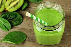 Green Gut Loving High Protein Breakfast Smoothie