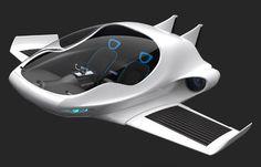 Air-Elf, futuristic, Concept, Future Air-Car, vehicle, flyingcar, Yinze Hu, fantastic, sci-fi, transportation, aircraft, airplane