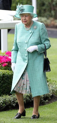 Queen Elizabeth Day 4 #Ascot 2017