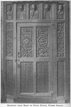 wood carved door tudor google tudor doors panels pinterest ghost film doors and. Black Bedroom Furniture Sets. Home Design Ideas