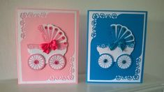 Biglietti di auguri per bambino tutorial -  baby cards tutorial
