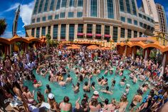 Cool off in style at the hottest #dayclubs on the #LasVegasStrip!  #VCard #Vegas #Summer #PoolSeason #BeattheHeat #VIP #TAO