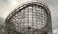 Cyclone - A rough ride at Six Flags New England - I rode it when the park was still called Riverside Park in Springfield, MA
