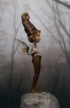 sprites and fairies dolls | Phillius by Fairystudiokallies Since many years creating fine art ...