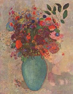 Image detail for -The Turquoise Vase - Odilon Redon - WikiPaintings.org