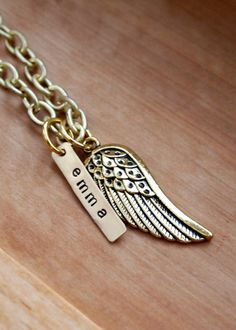 Angel Wings $17...add several names?