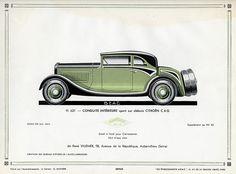 Citroen C 6 G Conduite Interieure Sport, c. 1931
