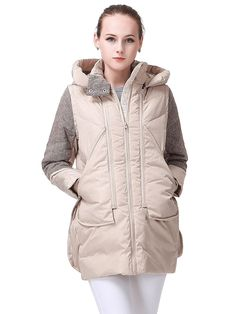 Miya Women's Thickened Hooded Down Jacket Women Long Overcoat For Women Coat * This is an Amazon Affiliate link. Click image to review more details.
