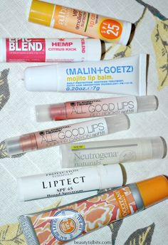 Favorite lip balms