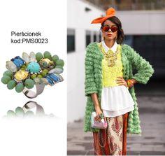 Macademian Girl w swojej stylizacji użyła pierścionka z kolekcji Maya's Secrets. To cudo znajdziecie na naszej stronie www.bydziubeka.pl. #bydziubeka #maya's secrets #pierścionek #ring